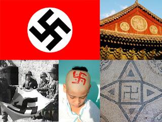 Esvástica, símbolo nazi y budista