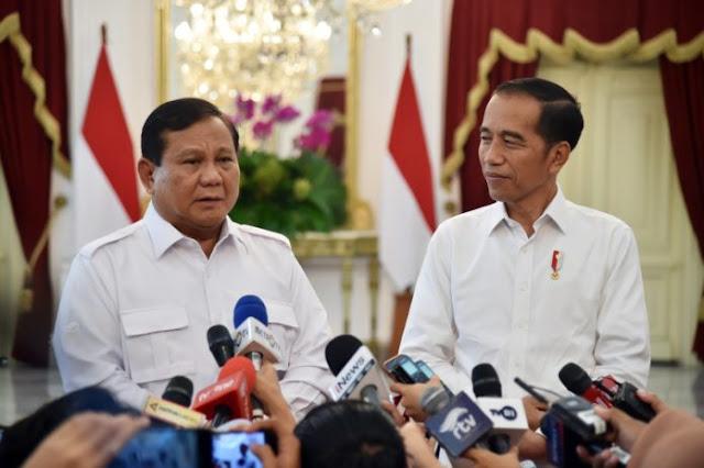 Presiden Jokowi Bertemu Prabowo di Istana, Ini Topik Dibicarakan