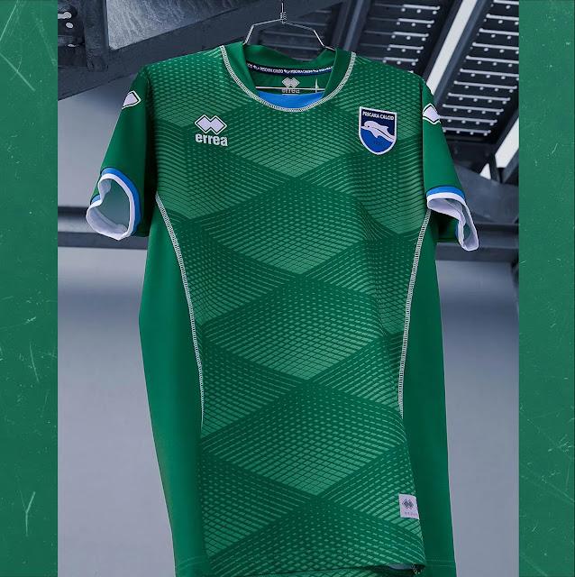 Errea apresenta as novas camisas do Pescara Calcio - Show ...