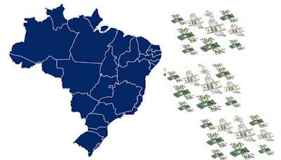 Ilustração: dinheiro fugindo do Brasil