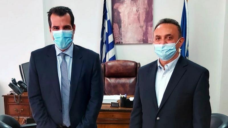 Συνάντηση Κελέτση με τον Υπουργό Υγείας για τα θέματα υγείας που απασχολούν τον Έβρο