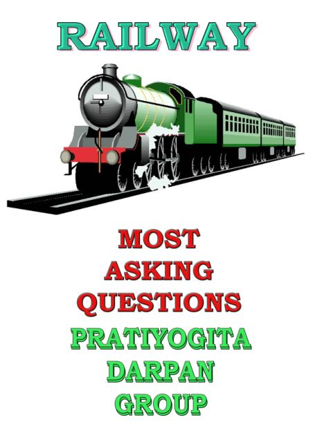 Railway Most Asking Question : for RRB Exams PDF