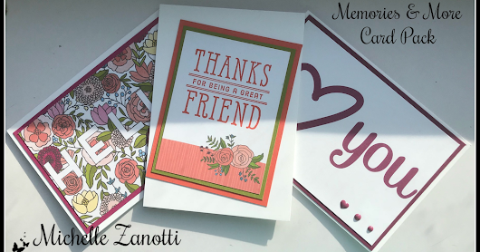 Stampin' Up! Sweet Soiree Memories & More Quick Cards