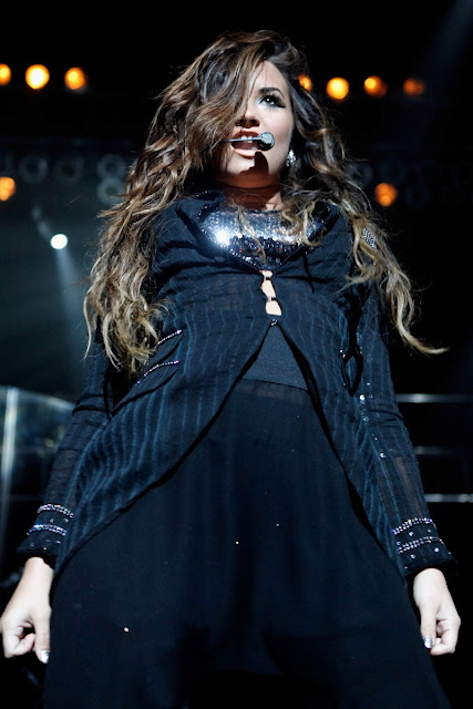 Demi Lovato Performing At Hammerstein Ballroom  DISNEY