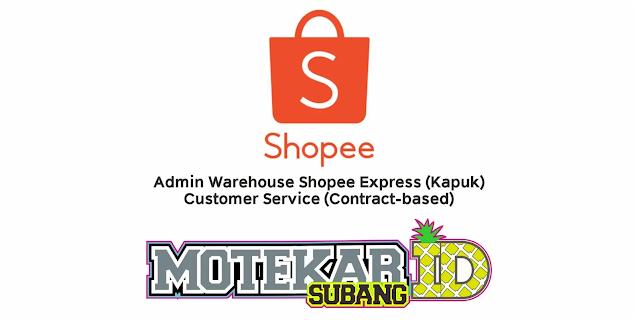 Lowongan Kerja Shopee Indonesia Januari 2021 - Motekar Subang  Info Loker hari ini