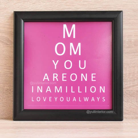 Fun Eye Test Wall Frames as Mother's Day Gifts in Port Harcourt, Nigeria