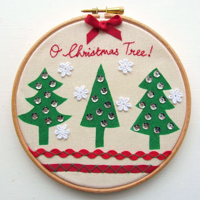http://angharadhandmade.blogspot.com/2013/11/christmas-tutorial-festive-embroidery.html