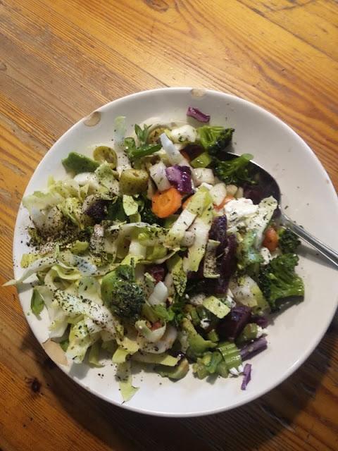Gezondheid, groente eten, Beeldend Buitenleven