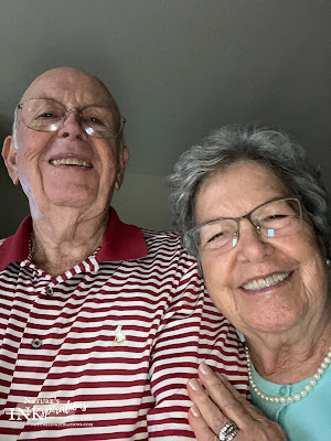 Selfie time!! My parents on their 59th anniversary!
