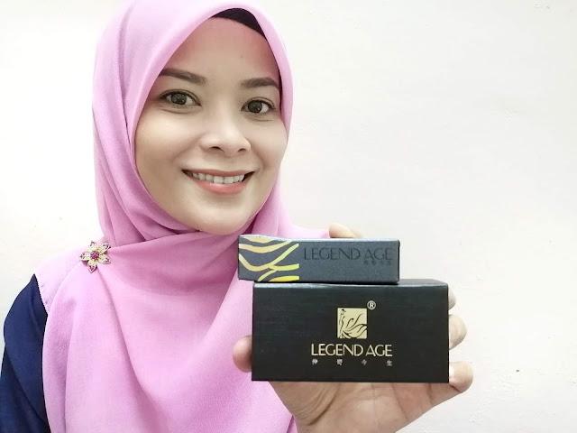 Legend Age Lipstick - Gincu Bibir 4 dalam 1 Dari Bahan Semulajadi Yang Selamat Digunakan