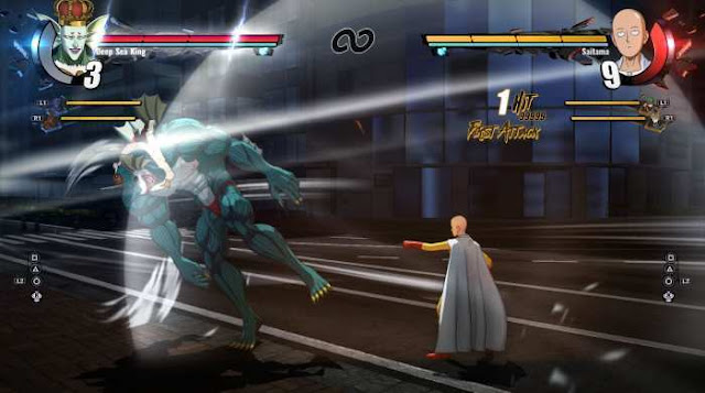 One Punch Man A Hero Nobody Knows a new representative of the popular fighting genre.