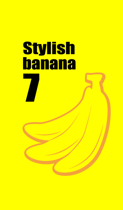 Stylish banana 7!
