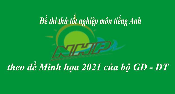 ĐỀ THI THỬ THPTQG NĂM 2021| Đề thi số 04