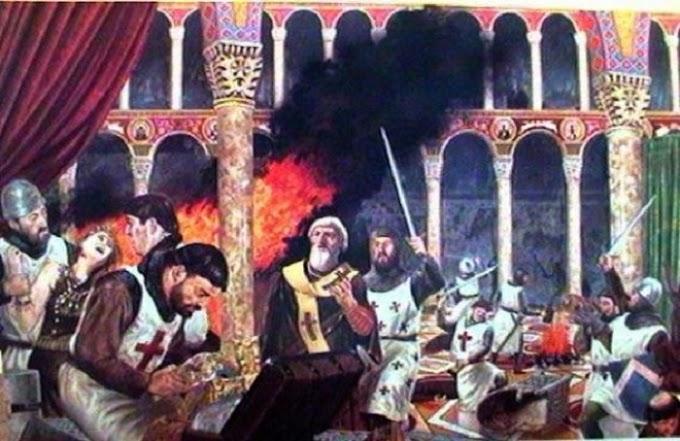 ΚΩΝΣΤΑΝΤΙΝΟΥΠΟΛΗ 1204 - Η Τελική Επίθεση των Σταυροφόρων