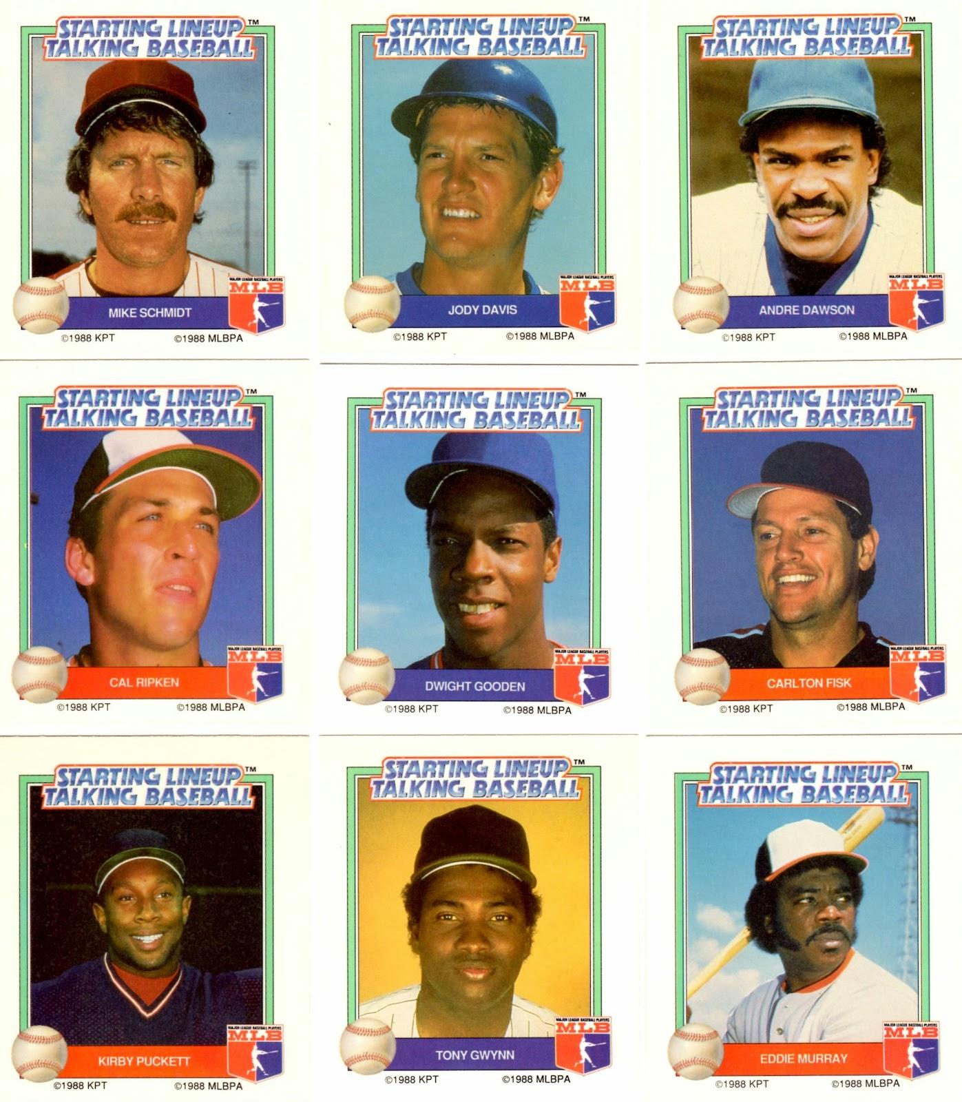 Electronic Baseball Parker Brothers Starting Lineup Talking Baseball