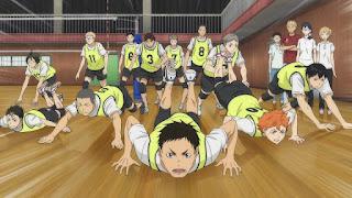 ハイキュー!! アニメ 2期11話 烏野高校排球部 | HAIKYU!! 梟谷学園グループ 合同合宿