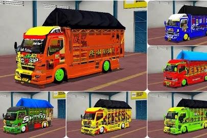 Koleksi Livery Mod Truck Canter Mukhlas v2 RSM Part 2
