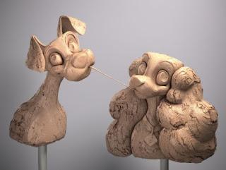 Os personagens da disney em uma galeria imperdível