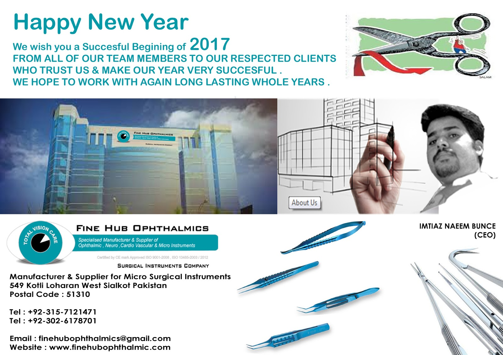 Ophthalmology Instruments | Surgical Instruments Company