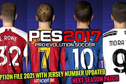 Latest Option File For Next Season Patch - PES 2017