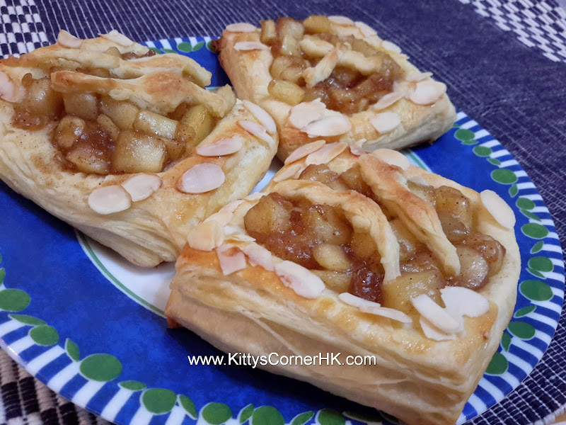 Apple Pastry Puff DIY recipe 蘋果酥餅 自家烘焙食譜