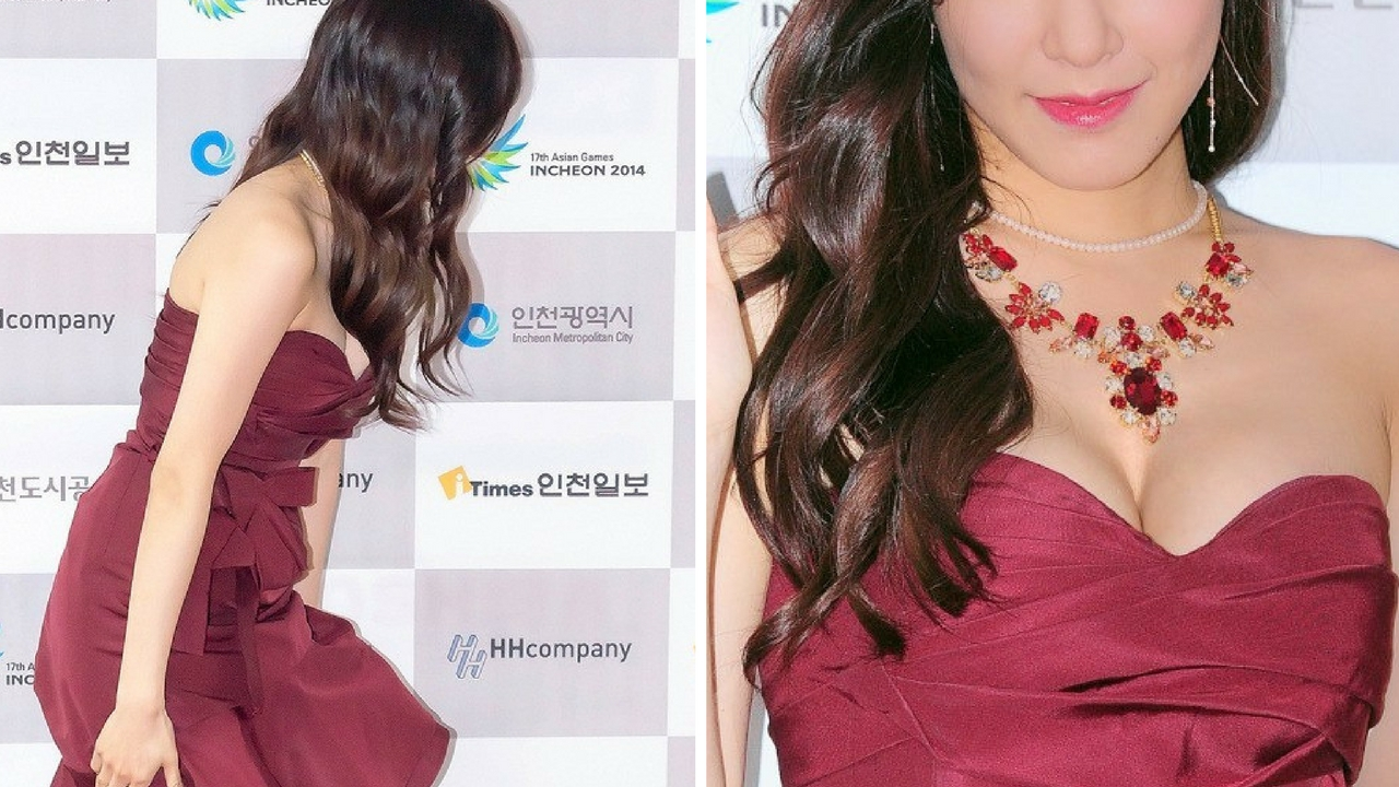 eye smile queen tiffany hwang stuns with this sexy dress