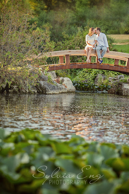 Gairloch Gardens - Oakville Engagement Photos