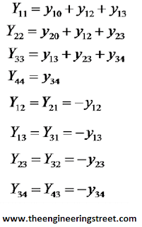 Load Flow And Y Bus (Bus Admittance Matrix) Step By Step Formation