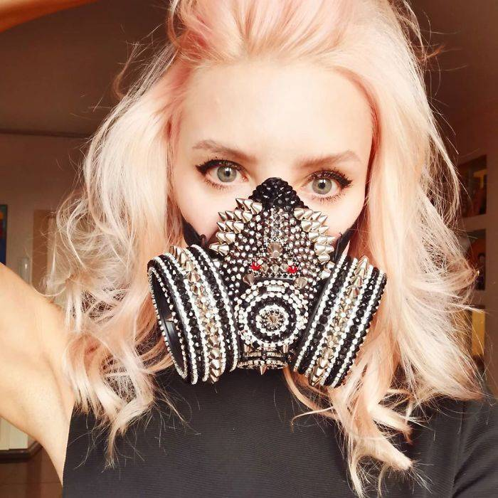 14 Unique And Creative Face Masks