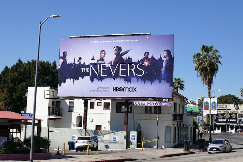 Nevers HBO series billboard