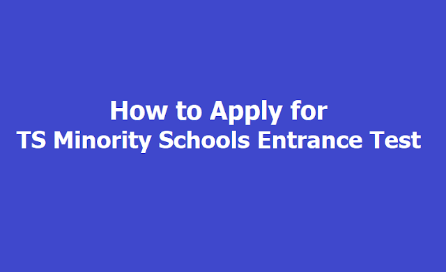 How to Apply for TMRS Entrance Test 2019, Submit TMREIS Online Application form