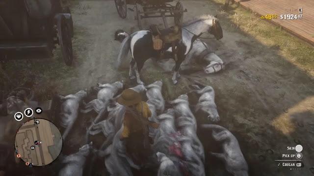 اللاعبين يكتشفون طريقة جديدة من أجل ربح المال بسرعة داخل Red Dead Online