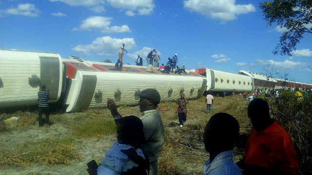 Passenger Train Accident as on its way to Dar es salaam from Kigoma