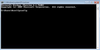 Cara Melihat IP Address di laptop pc samsung
