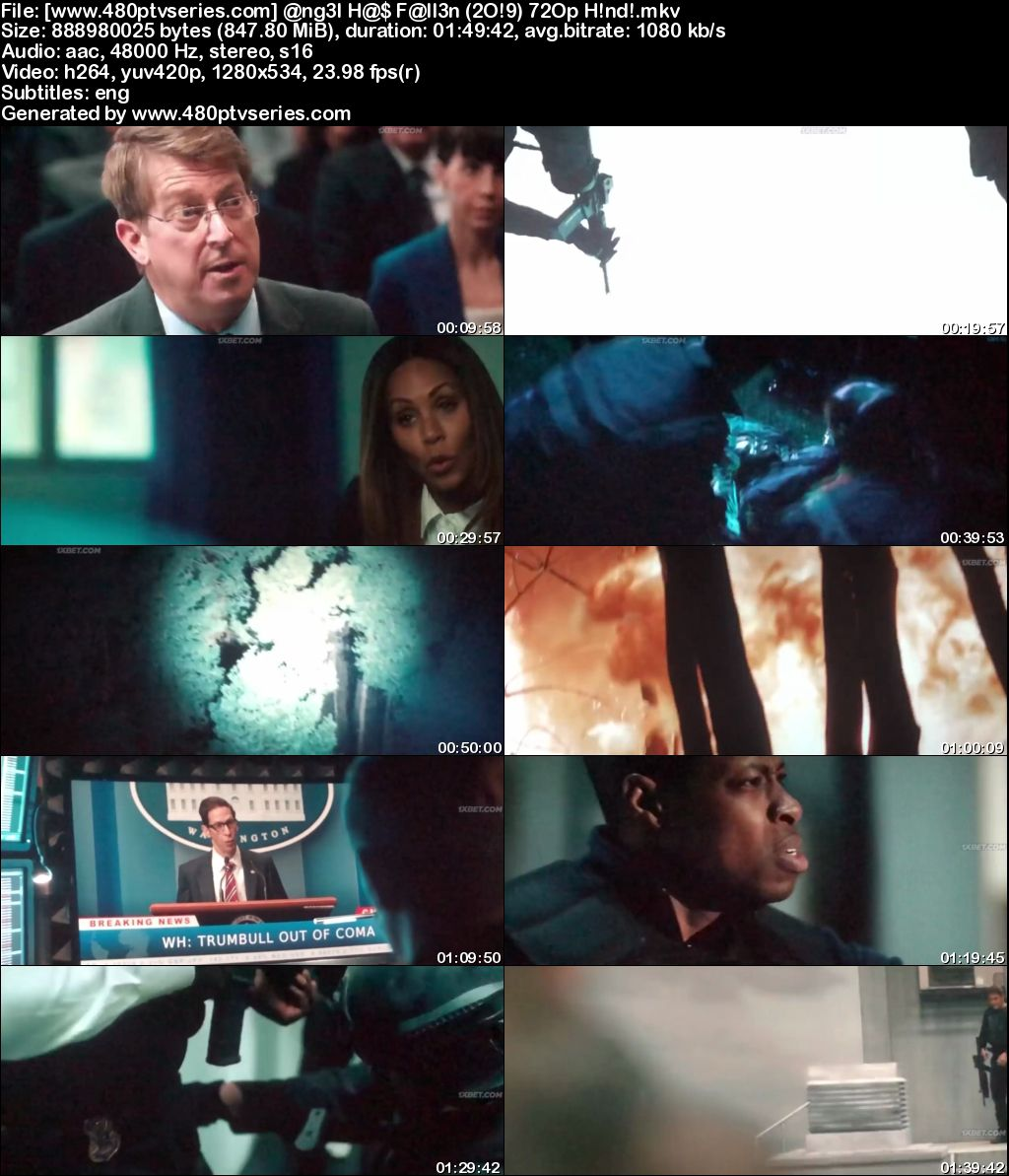Download Angel Has Fallen (2019) 850MB Full Hindi Dubbed Movie Download 720p HDCAM Free Watch Online Full Movie Download Worldfree4u 9xmovies