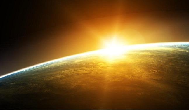 Земля Солнце