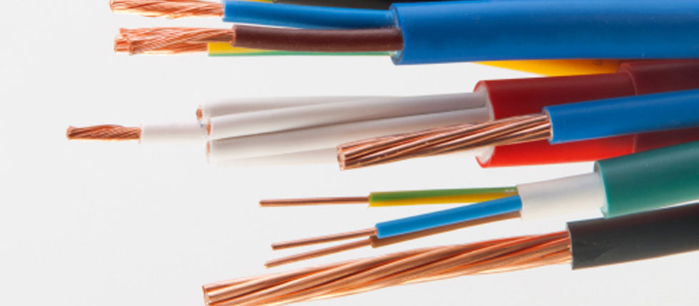 on electrical copper wiring