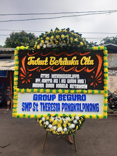Bunga Papan Duka Cita Sumur Bandung
