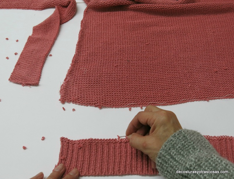 reducir el largo de un jersey sin que se note