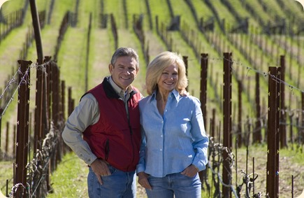 Kathryn and Craig Hall (courtesy HALL Wines)