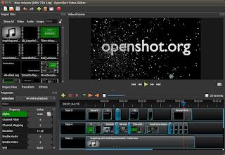 fitur fitur aplikasi edit vidio openshot