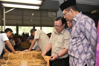 Gubernur Imbau Petani Jangan Jual Tembakau Lewat Calo