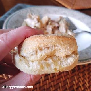 gluten free biscuit egg free