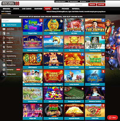 SLOT GAME : Taruhan Mesin Slot Online ( PRAGMATIC, TTG, HABANERO, PLAYSTAR, REDTIGER, SPADEGAMING, ISOFTBET, MICROGAMING, GAMEPLAY )