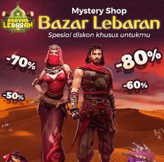 Mystery Shop Free Fire Bazar Lebaran 2019
