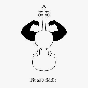 AC Proofreading: Explaining Idioms: 2) fit as a fiddle