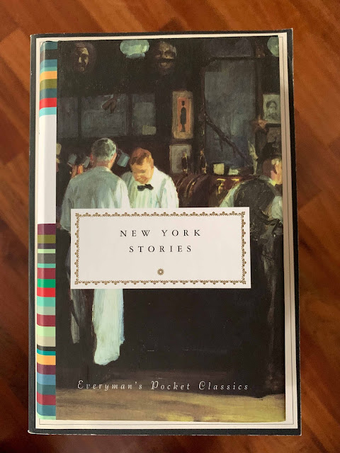 Book cover New York Stories Edited by Diana Secker Tesdell
