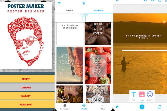 Cara Download 5 Aplikasi dan Situs Pembuat Poster Terbaik Untuk Android, iPhone, PC & Mac 3