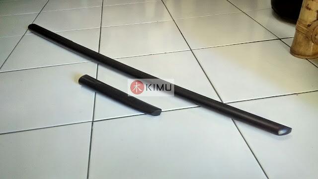 Black Dragon Bokken & Black Tanto