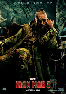 Iron Man 3 MANDARIN Ben Kingsley